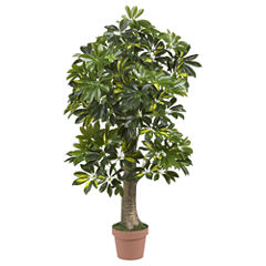 Nearly Natural 4-ft. Schefflera Silk Tree Real Touch