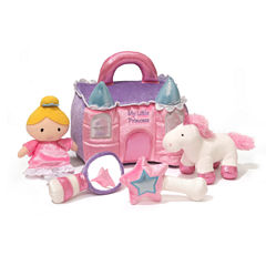 Gund Princess Castle Playset 5-pc. Plush Play Sets