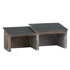Bachmann Trains - Thomas and Friends Storage Shed Resin Building