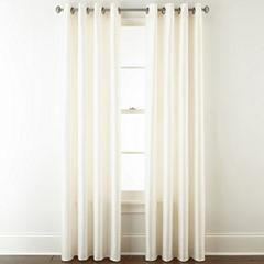 Liz Claiborne Westfield Room Darkening Grommet-Top Curtain Panel