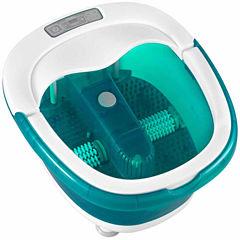HoMedics® Deep Soak Duo Footbath with Wet/Dry PoweRoll
