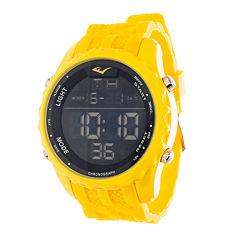 Everlast Yellow and Black Digital Watch