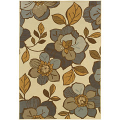 Covington Home Dogwood Indoor/Outdoor Rectangular Rug
