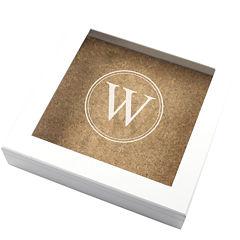 Cathy's Concepts Keepsake Box with Corkboard