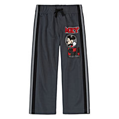 Okie Dokie® Mickey Mouse Athletic Pants - Toddler Boys 2t-5t