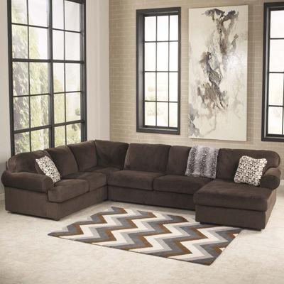 Captivating Signature Design By Ashley® Jessa Place 3 Pc. Sofa Sectional