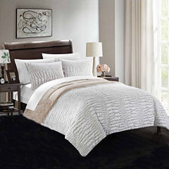 Chic Home Alligator 3-pc. Midweight Reversible Comforter Set