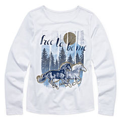 Arizona Long Sleeve Graphic Tee - Girls' 7-16 and Plus