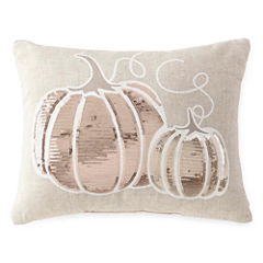 JCPenney Home™ Sequins Pumpkin Decorative Pillow