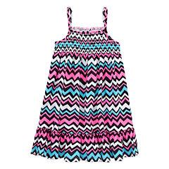 Okie Dokie Sleeveless Sundress - Preschool Girls