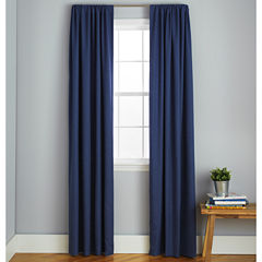 Frank And Lulu Peyton Rod-Pocket Curtain Panel