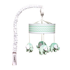 Trend Lab® Mint Chevron Mobile