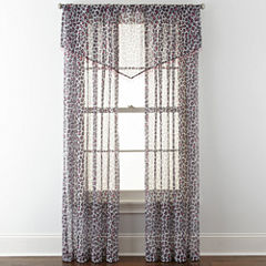 Home Expressions™ Purr Sheer Rod-Pocket Window Treatments