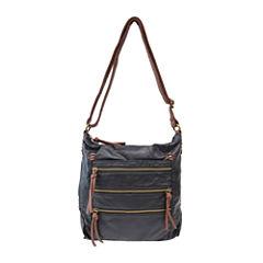 Bueno Two-Tone Crossbody Bag