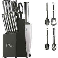 Ginsu® Koden Series 18-pc. Stainless Steel Knife Set