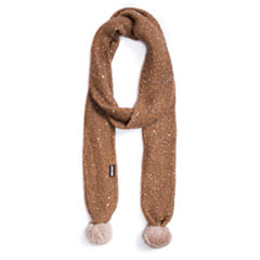 Muk Luks Sequins Oblong Cold Weather Scarf