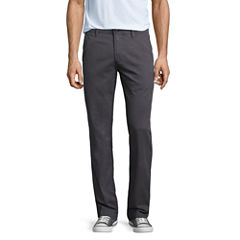 Arizona Slim Fit Flat Front Pants
