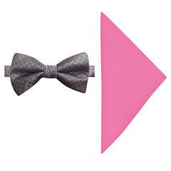 Susan G Komen Tonal Bow Tie Set