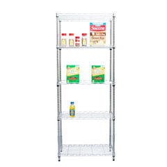 Mind Reader 'Store' 4-Shelf Capacity Shelving Unit