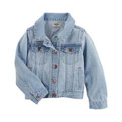 Oshkosh Girls Denim Jacket-Preschool