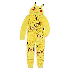 Pikachu Union Suit - Boys