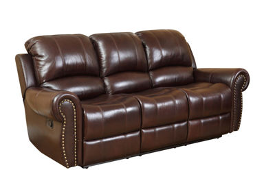Good Sophia Leather Roll Arm Sofa
