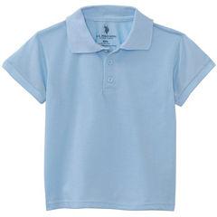 U.S. Polo Assn.® Short-Sleeve Polo - Toddler Boys 2t-4t