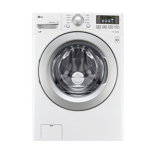 LG ENERGY STAR® 4.5 cu.ft. Ultra-Large Capacity Front- Load Washer with Coldwash™ Technology