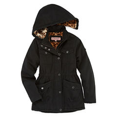 Cotton Twill Anorak Jacket - Girls-Big Kid