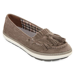 Yuu Vermont Womens Slip-On Shoes