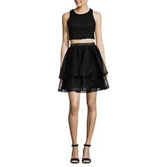 My Michelle Sleeveless 2 Pc. Party Dress-Juniors
