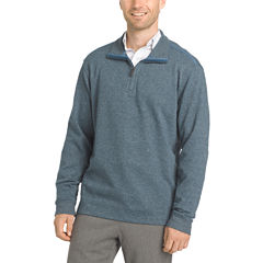 Van Heusen® Long Sleeve Flex Quarter Zip