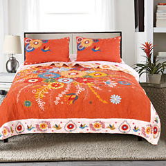 Topanga 3-pc. Floral Quilt Set