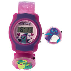 Hatchimals Girls Multicolor Strap Watch-Hatkd16001