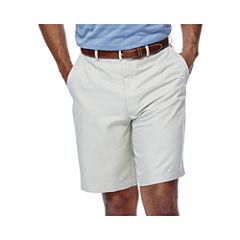 Haggar® Cool 18® No–Iron Flat-Front Shorts–Big & Tall