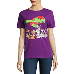 Space Jam Graphic T-Shirt- Juniors
