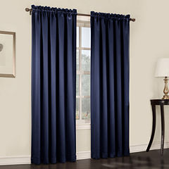 Sun Zero™ Emory 2-Pack Room-Darkening Rod-Pocket Curtain Panels