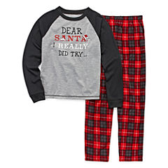 #FAMJAMS Dear Santa Family Pajama Set- Toddler Boys