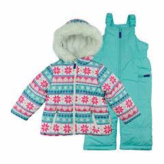 Carter's Heavyweight Snow Suit-Toddler Girls