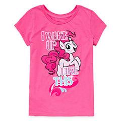 My Little Pony Graphic T-Shirt-Big Kid Girls