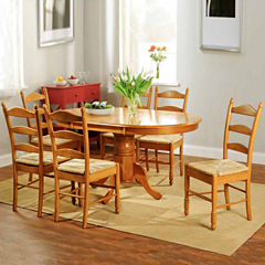 Ladderback 7-pc. Dining Set