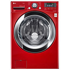 LG ENERGY STAR® 4.5 cu. ft. Ultra-Large Capacity Front-Load Washer with Steam