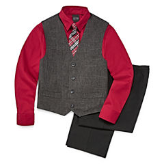 Boys 4-10 FTW 4-Piece Vest Set