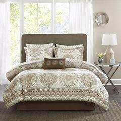 Madison Park Essentials Medina Complete Bedding Set with Sheets