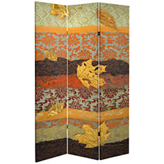 Oriental Furniture 7' October Gold Room Divider