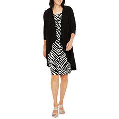 R & M Richards 3/4 Sleeve Jacket Dress