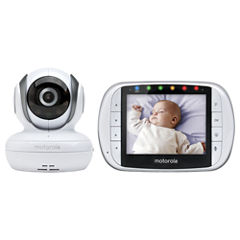 Motorola Wireless Color LCD Screen Baby Monitor