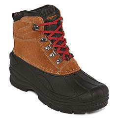 Weatherproof Alpine Mens Water Resistant Insulated Winter Boots