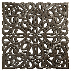 St. Croix Trading Solaris Eight Wooden Wall Panel