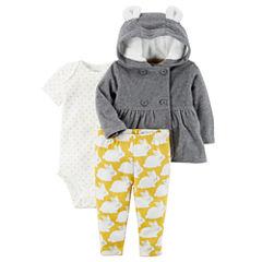 Carter's 3-pc. Pant Set Baby Girls